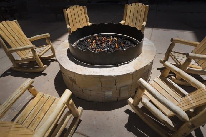 fire pit, Warm Up On Cool Nights with a Fire Pit or Fireplace