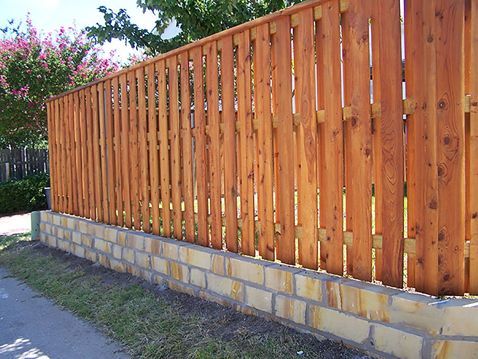 wood fence design ideas circle d industries 817 984 5566