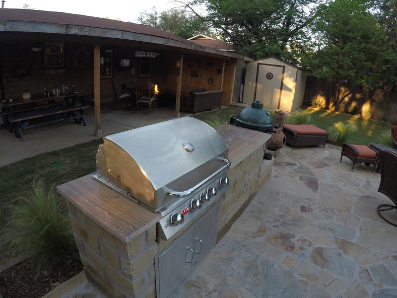 How to Find the Right Outdoor Kitchen Countertop   817-984-5566