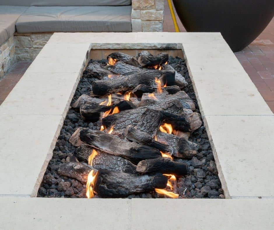 fire feature, Fall Fire Features