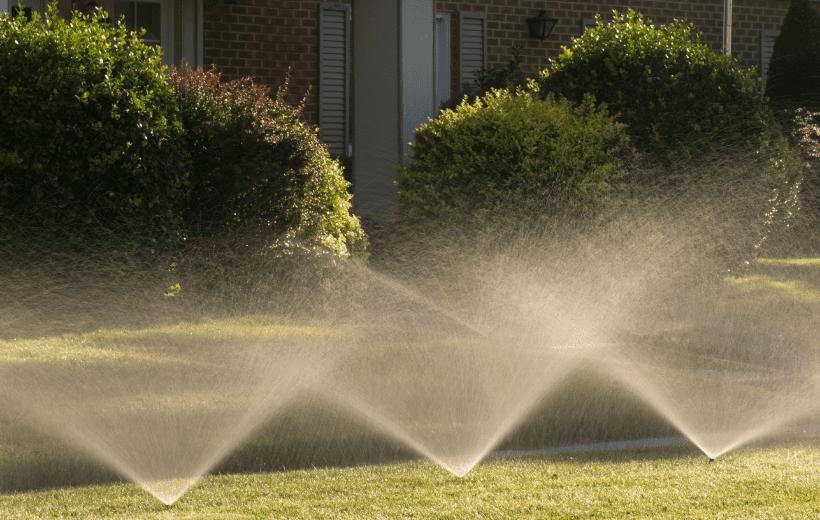 lawn sprinkler system, Sprinklers